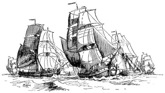 The Project Gutenberg Ebook Of Ships And Ways Of Other Days Throughout Flinders Forge 24 Inch Tier Pairs In Navy (Image 18 of 25)