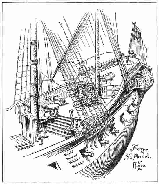 The Project Gutenberg Ebook Of Ships And Ways Of Other Days With Regard To Flinders Forge 24 Inch Tier Pairs In Navy (Image 21 of 25)