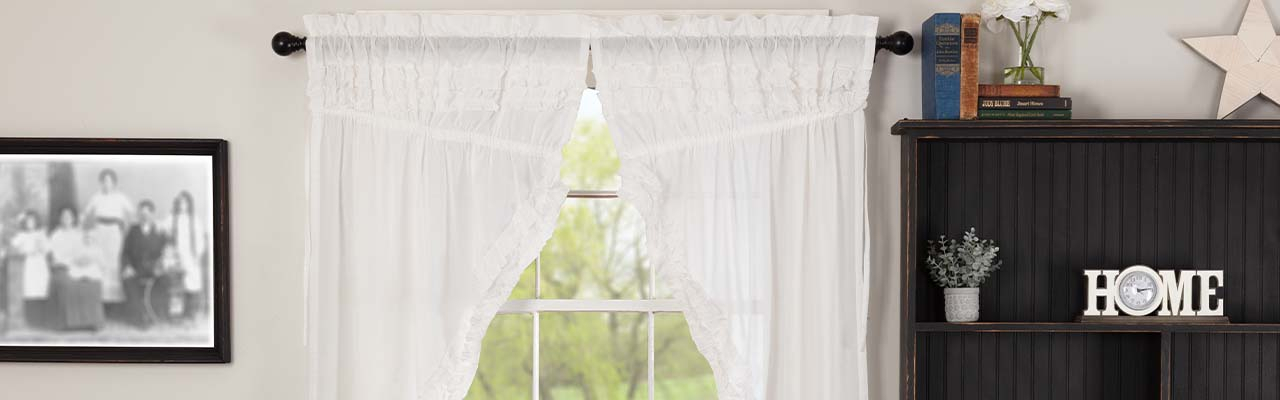 The Retailer's Quick Guide To Buying Sheer Curtains Inside White Ruffled Sheer Petticoat Tier Pairs (View 21 of 25)