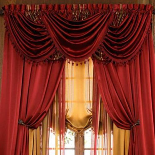 This Is For Panel Or Valance ( Each Circle Is One Valance In Circle Curtain Valances (View 10 of 25)