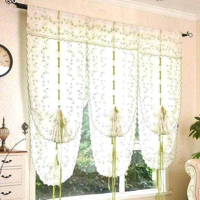 Tie Up Kitchen Curtains – Theswbc With Luxurious Kitchen Curtains Tiers, Shade Or Valances (View 19 of 25)