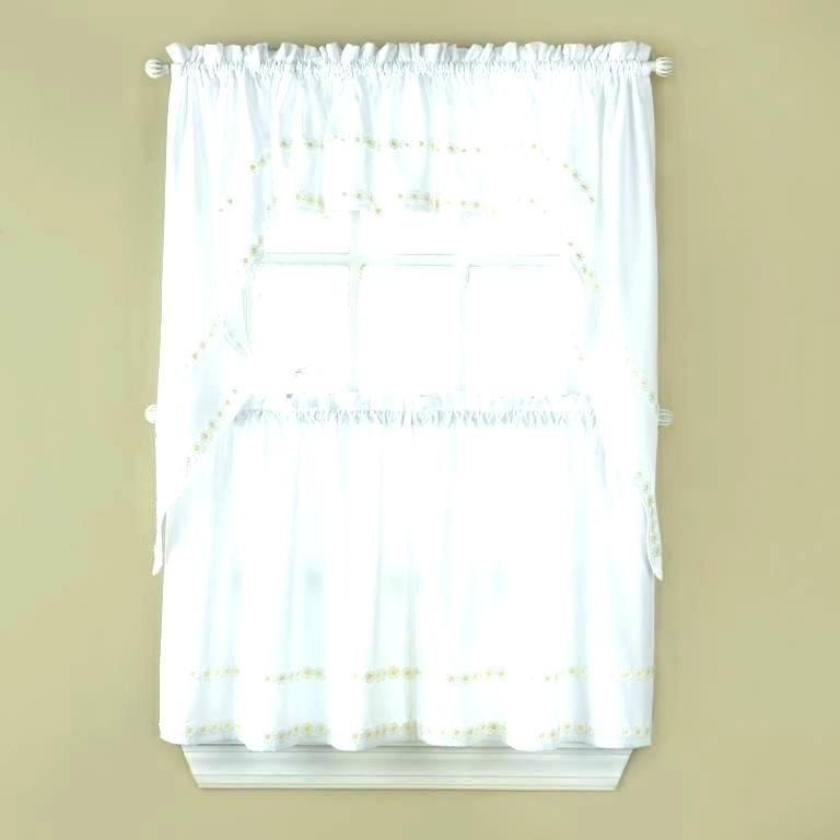 Tier Valances Country Style Cotton Kitchen Curtains And Within Live, Love, Laugh Window Curtain Tier Pair And Valance Sets (View 22 of 25)