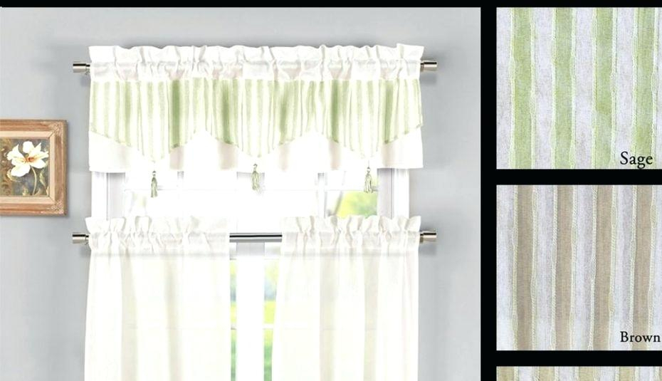 Tier Window Curtains – Tomasloewy Regarding Traditional Two Piece Tailored Tier And Swag Window Curtains Sets With Ornate Rooster Print (View 10 of 25)