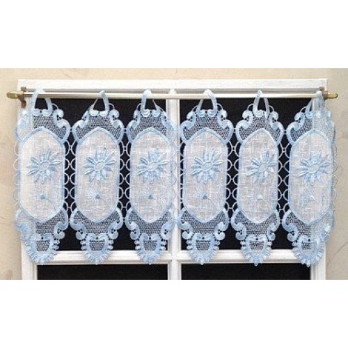 Tiers With Regard To 5 Piece Burgundy Embroidered Cabernet Kitchen Curtain Sets (View 21 of 25)