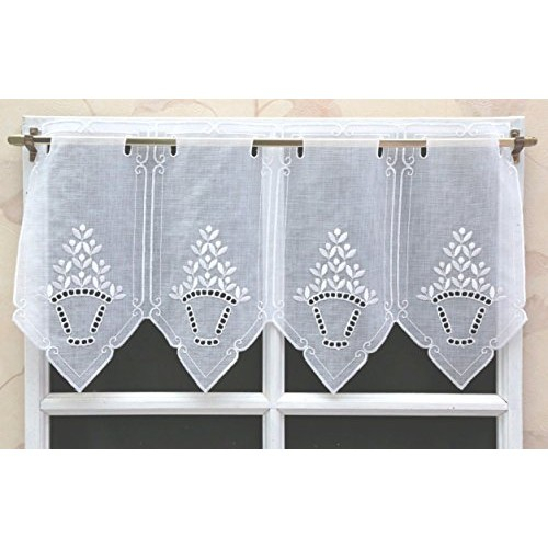 Tiers With Regard To 5 Piece Burgundy Embroidered Cabernet Kitchen Curtain Sets (View 14 of 25)