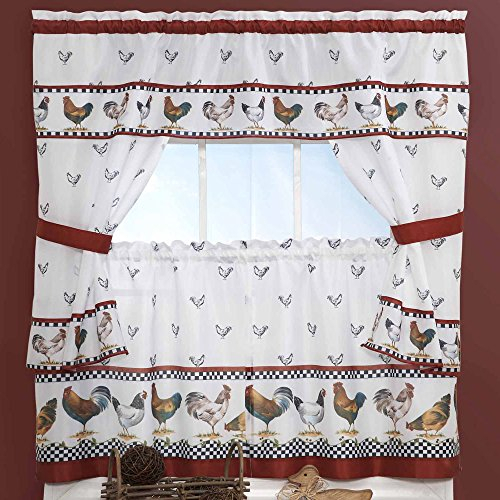 Top 17 Best Cottage Curtains – Top Decor Tips With Regard To Top Of The Morning Printed Tailored Cottage Curtain Tier Sets (View 11 of 25)