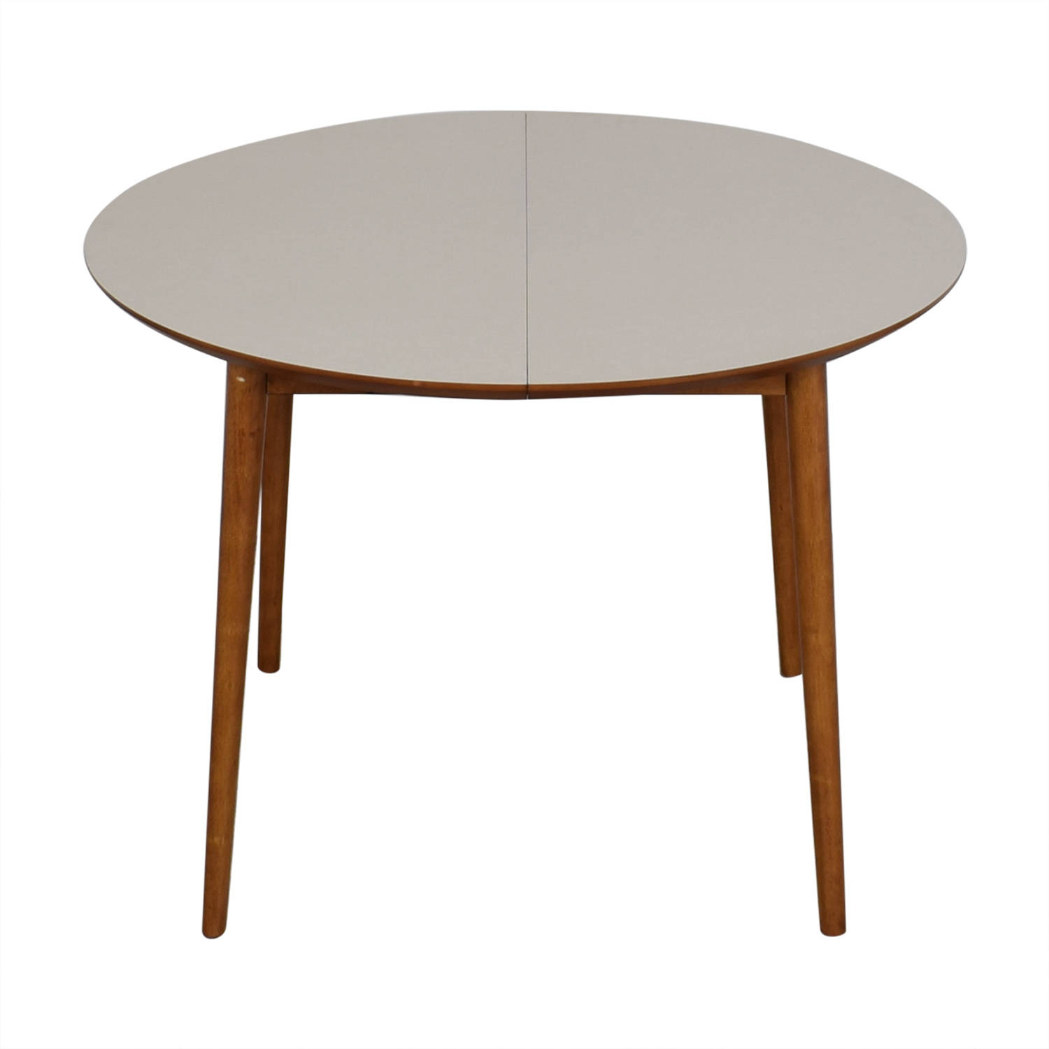 Top 5 West Elm Round Dining Table With Cut Out Legs—Xi With Regard To 2018 Rustic Mahogany Benchwright Pedestal Extending Dining Tables (View 19 of 25)