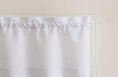 Top Of The Window Martine Rod Pocket Light Filtering 3 Piece Inside Solid Microfiber 3 Piece Kitchen Curtain Valance And Tiers Sets (View 18 of 25)