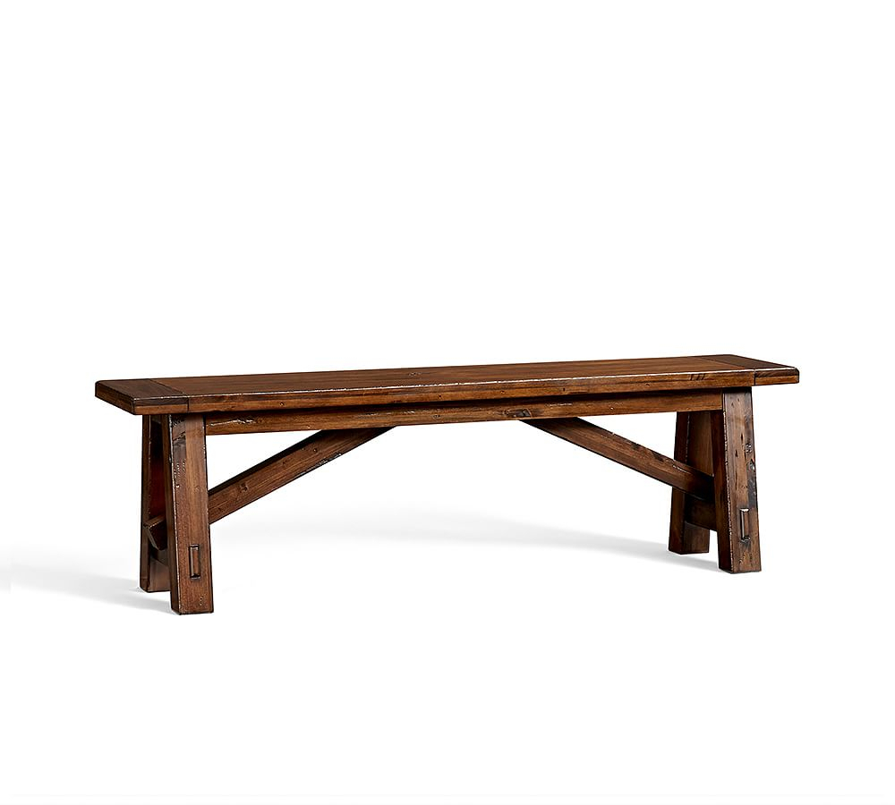 Toscana Bench, Small, Tuscan Chestnut Stain – Wood Entryway Regarding Best And Newest Tuscan Chestnut Toscana Dining Tables (View 9 of 25)
