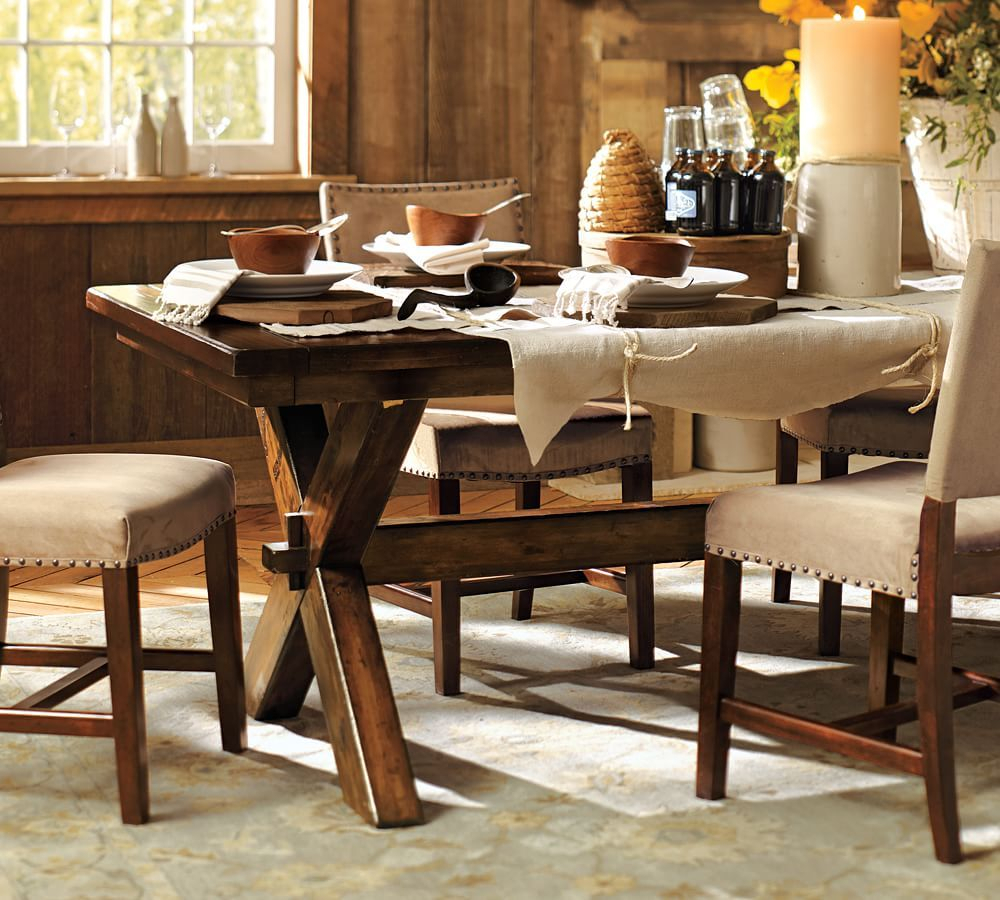 Toscana Dining Table, Tuscan Chestnut | *furniture* | Mesas With Regard To Recent Tuscan Chestnut Toscana Dining Tables (View 11 of 25)