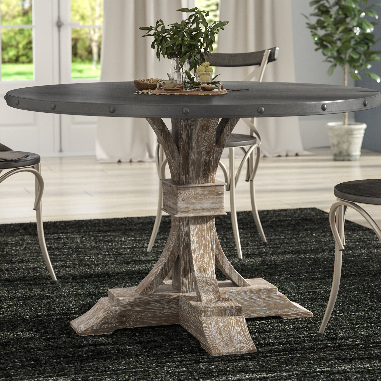 Toulon Dining Table Intended For Current Christie Round Marble Dining Tables (View 18 of 25)
