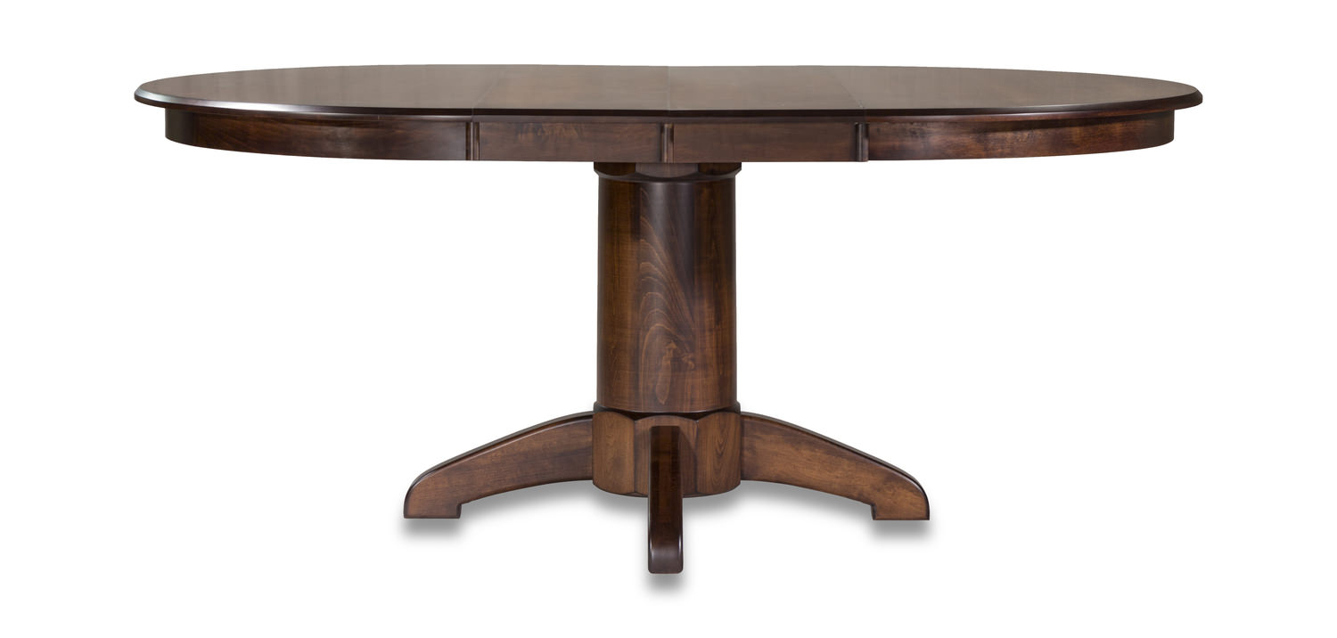Tucson Amish Maple Table Throughout Best And Newest Johnson Round Pedestal Dining Tables (View 20 of 25)