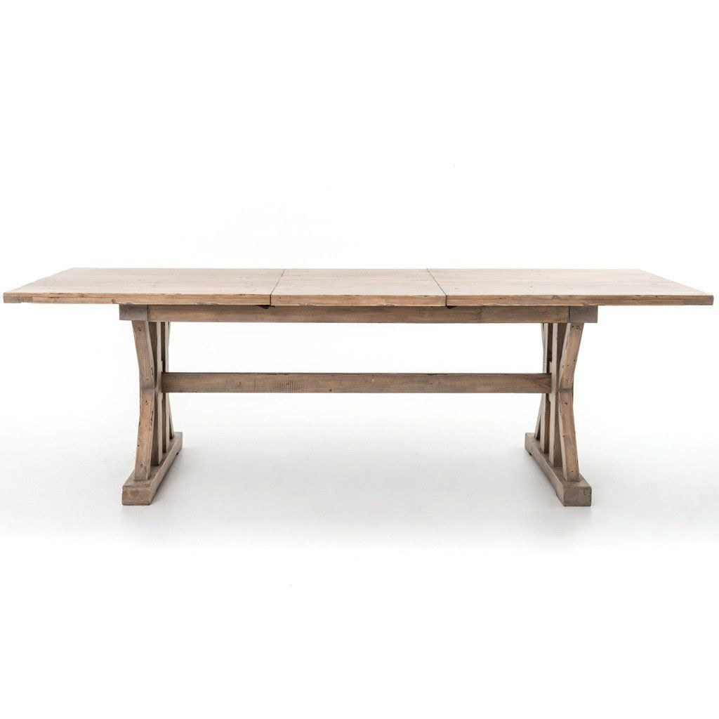 Tuscan Spring Extension Dining Table In 2019 | Products Throughout Best And Newest Stafford Reclaimed Extending Dining Tables (View 14 of 25)