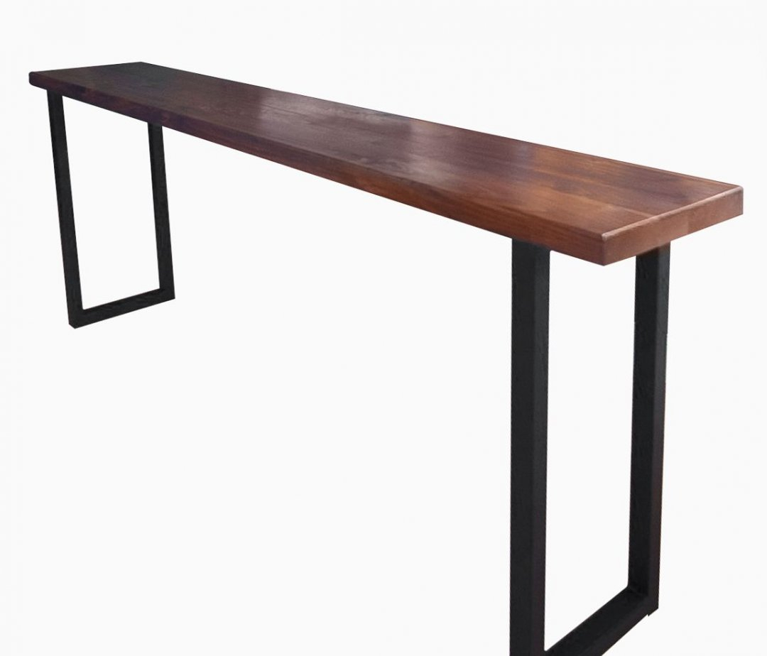 Unfinished Pub Table Solid Wood Bar Height Tables Home Decor In Most Recently Released Griffin Reclaimed Wood Bar Height Tables (View 11 of 25)