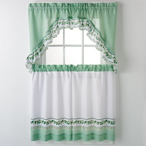 United Curtain Co. Ivy 3 Pc (View 8 of 25)