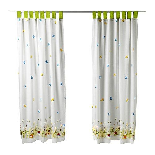 Us – Furniture And Home Furnishings | Ikea, Kids Curtains Within Window Curtains Sets With Colorful Marketplace Vegetable And Sunflower Print (View 9 of 25)