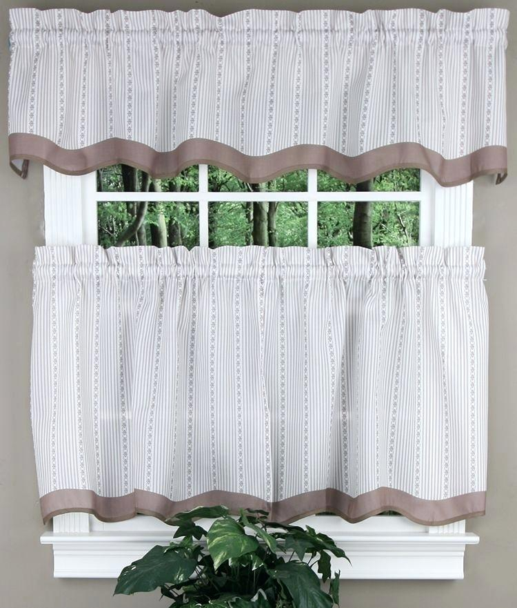 Valance And Tier Curtain Sets – Wendellpurkey.co With Lemon Drop Tier And Valance Window Curtain Sets (Photo 7 of 25)