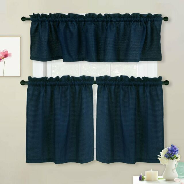Valance/tier Curtain Window For Kitchen/bathroom Rod Pocket Kitchen Cafe  Curtain Intended For Rod Pocket Kitchen Tiers (Photo 4 of 25)