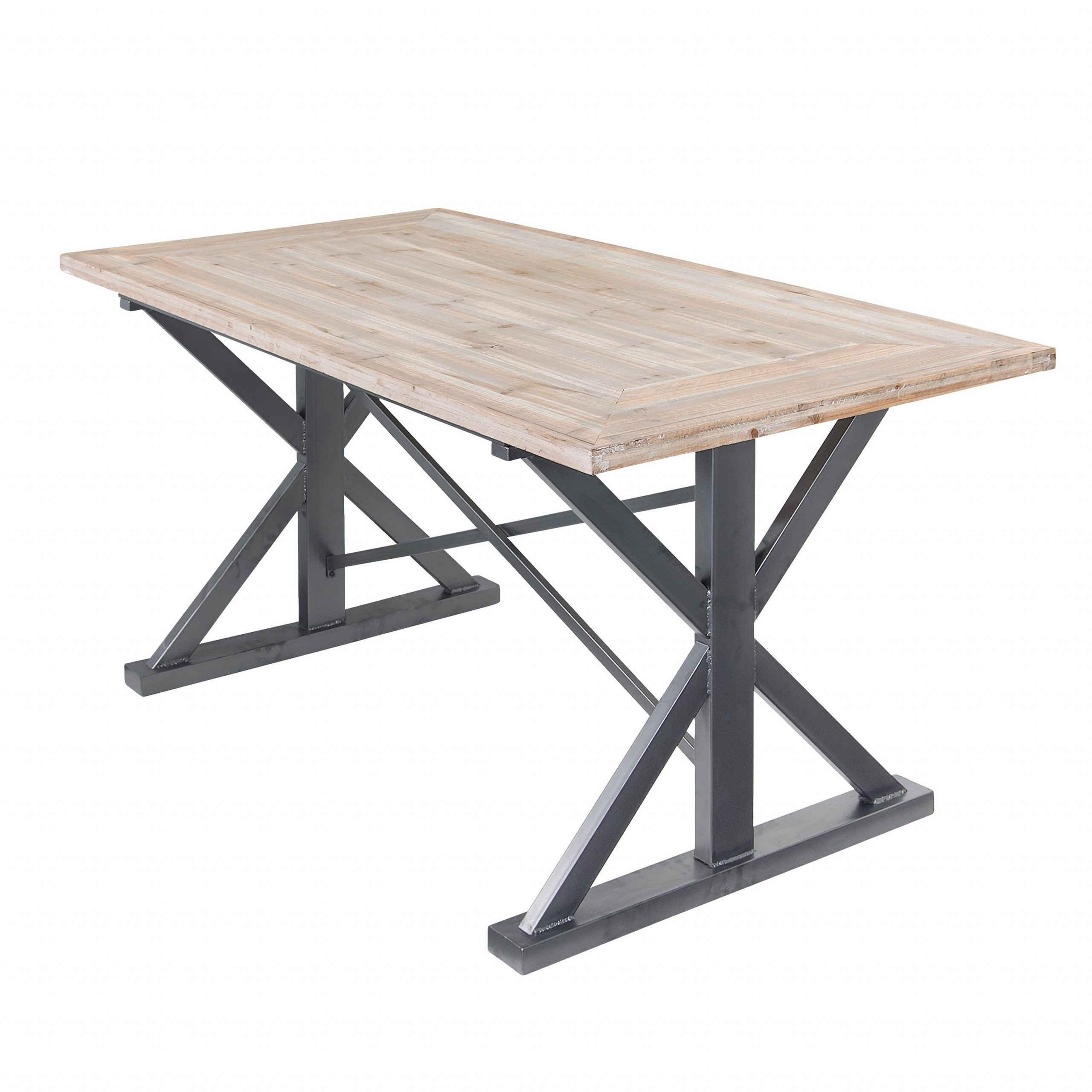 Varaluz Casa Dawson Rustic Wood Dining Table Throughout 2017 Dawson Pedestal Dining Tables (Image 25 of 25)