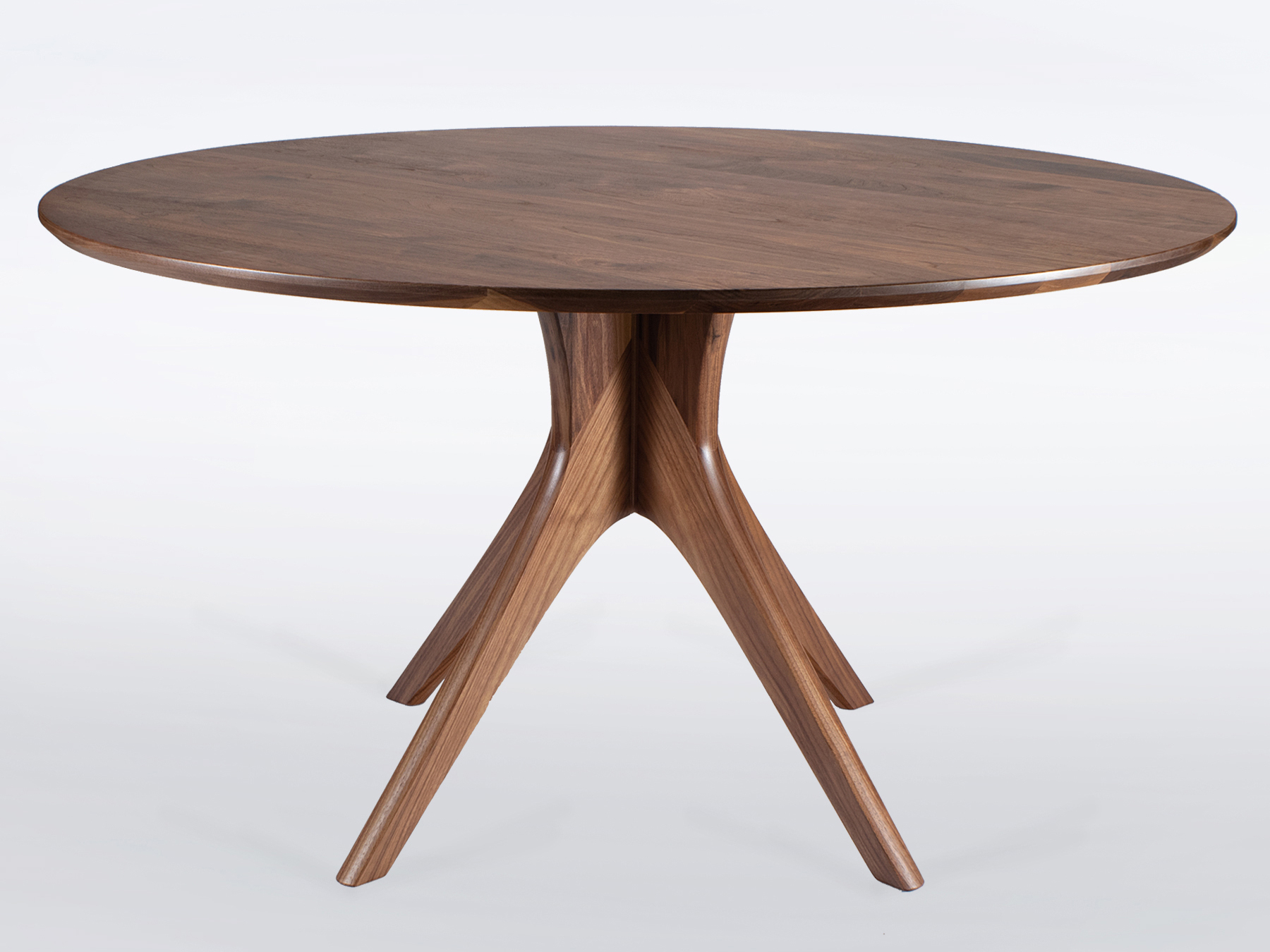 Walnut Pedestal Dining Table – Table Design Ideas Pertaining To Current Warner Round Pedestal Dining Tables (View 12 of 25)