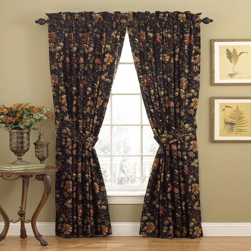 Waverly 1 Panel Felicite Window Curtain – 50'' X 84 Within Waverly Felicite Curtain Tiers (View 10 of 25)