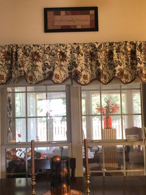 Waverly Felicite Window Curtain Valance – Walmart Intended For Waverly Felicite Curtain Tiers (View 6 of 25)