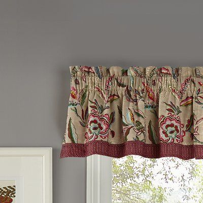 """Waverly Key Of Life 52"""" Window Valance In 2019 