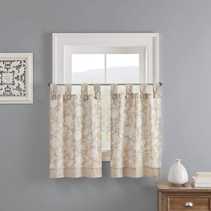 Waverly Panels – Shopstyle Within Waverly Kensington Bloom Window Tier Pairs (View 5 of 25)