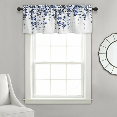 """Weigel 52"""" Window Valance – Navy New 