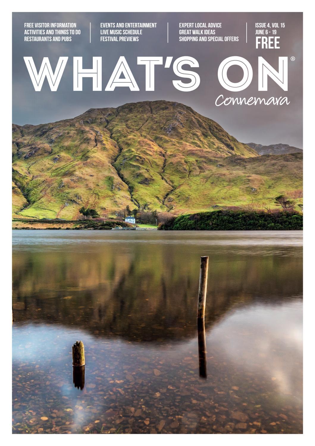 What's On Connemara – Issue 4 2019Destination Connemara Within Most Popular Upland Marble Kitchen Islands (View 6 of 25)