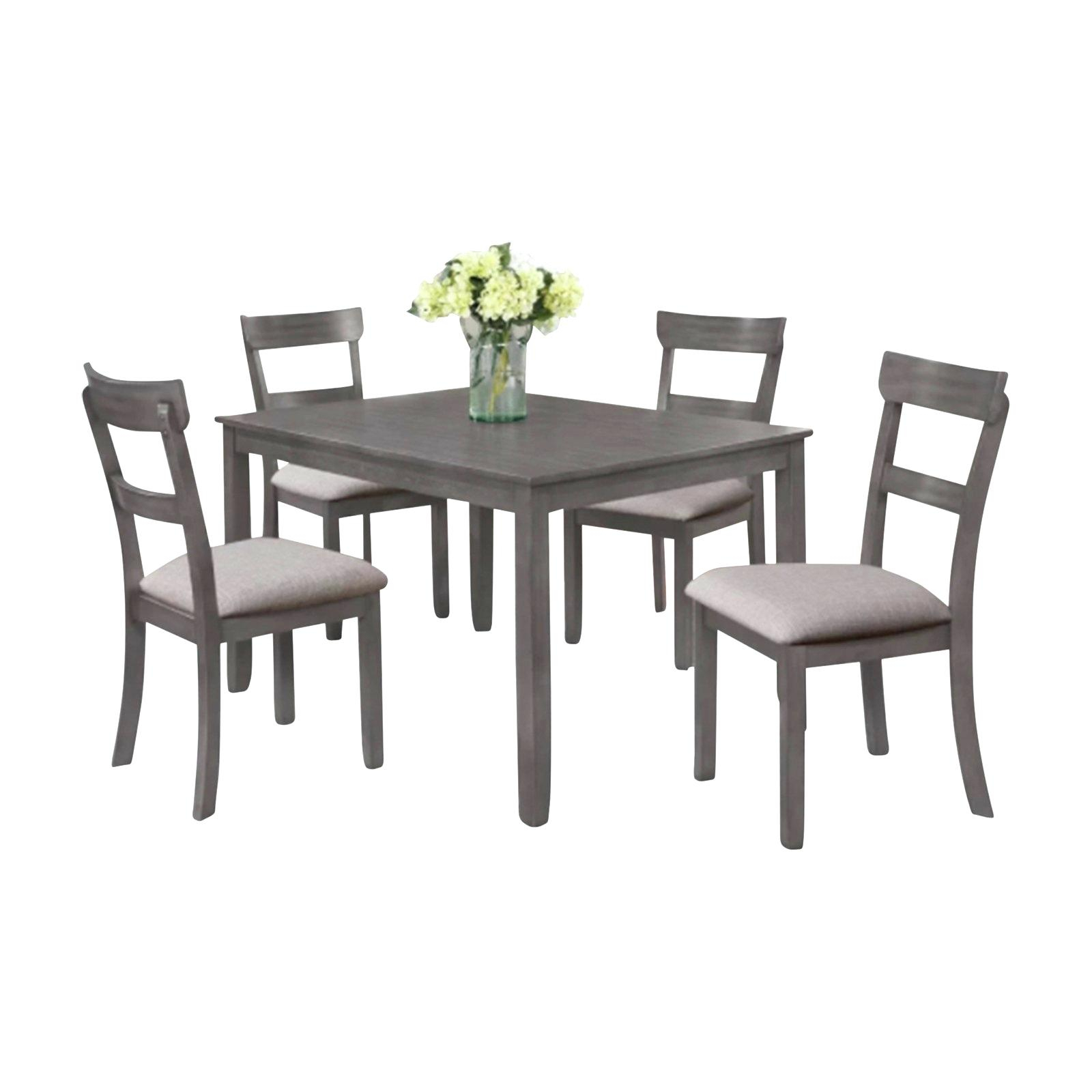 White And Gray Dining Table – Insidestories In Best And Newest Black Wash Banks Extending Dining Tables (View 7 of 25)