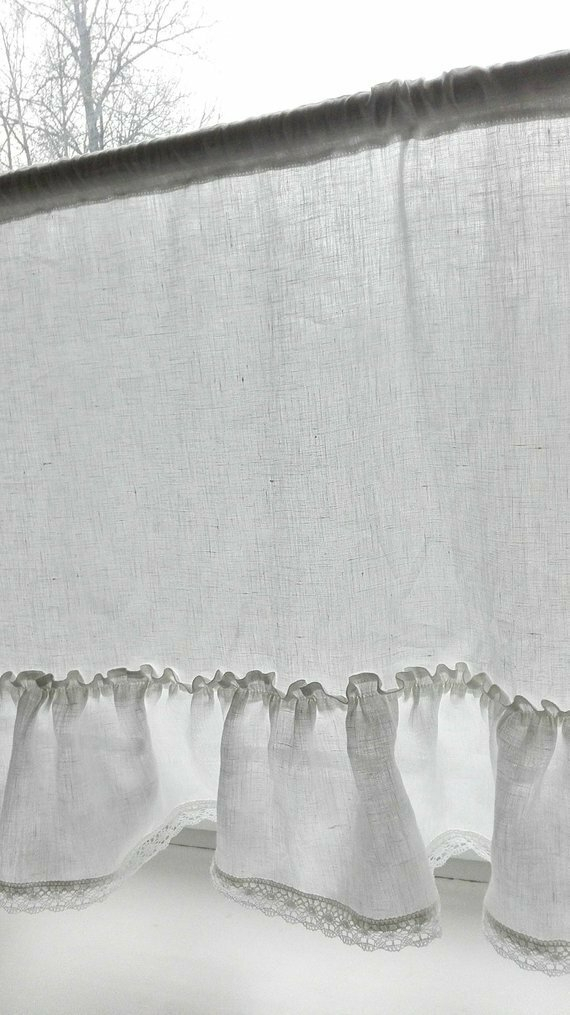 White Cafe Curtains – Bestwindowcurtains (View 13 of 25)
