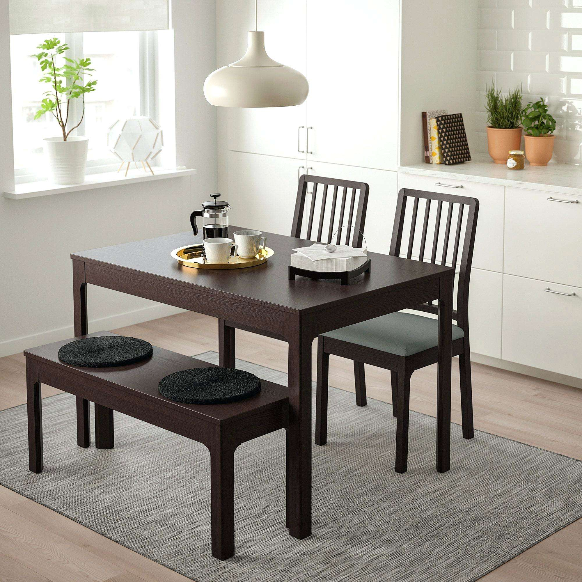 White Dining Table Black Chairs Pertaining To Most Recent Salvaged Black Shayne Drop Leaf Kitchen Tables (View 19 of 25)