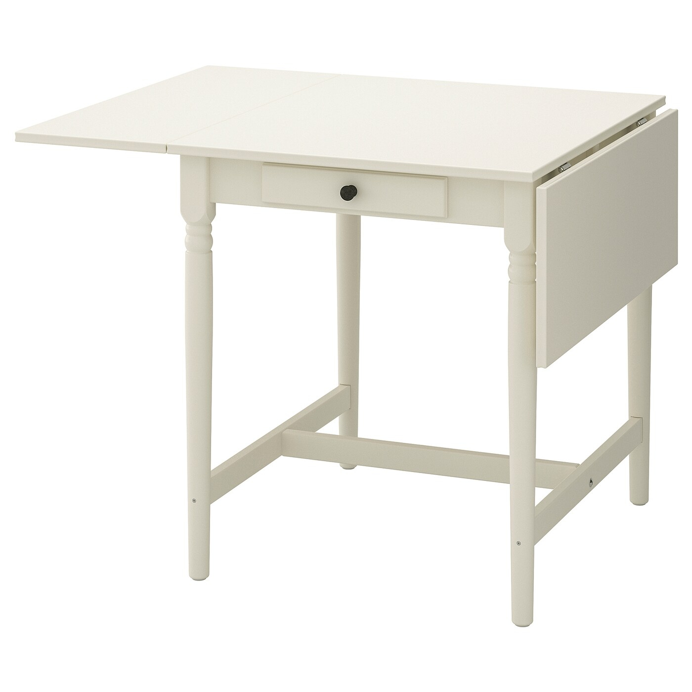 White Dropleaf Table – Martinique Throughout Most Popular Antique White Shayne Drop Leaf Kitchen Tables (View 24 of 25)