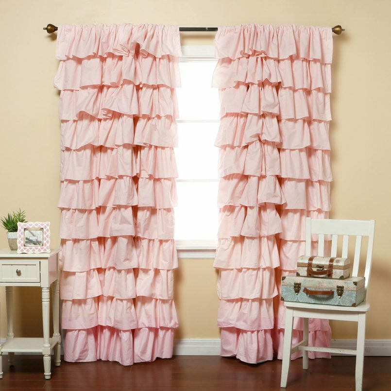 White Kitchen Curtains – V9Oj Within Bermuda Ruffle Kitchen Curtain Tier Sets (Image 25 of 25)