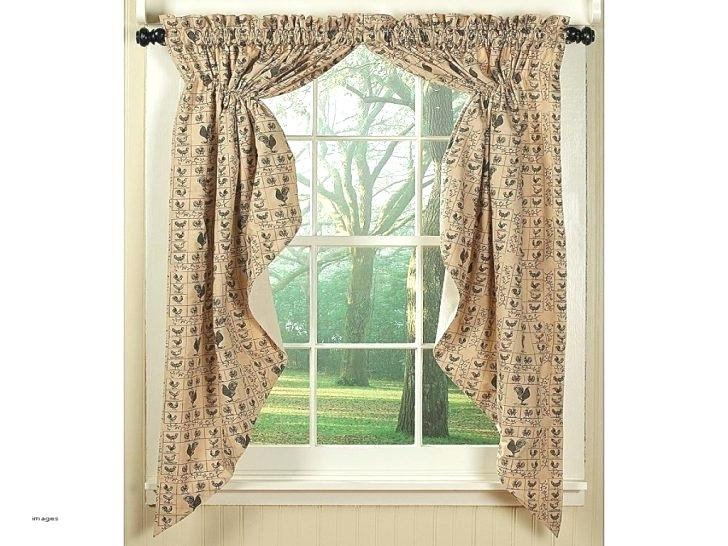 White Swag Kitchen Curtains Valances Swags Windows Stunning Intended For Red Primitive Kitchen Curtains (Image 25 of 25)
