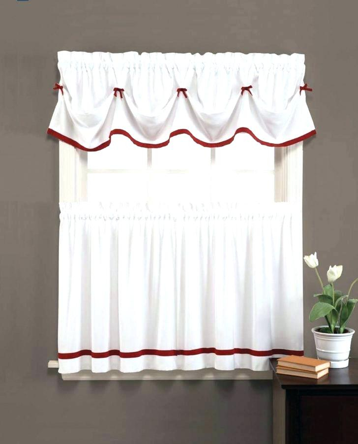White Tier Curtains Bathroom Decorating Christmas Cookies Within Modern Subtle Texture Solid White Kitchen Curtain Parts With Grommets Tier And Valance Options (View 20 of 25)