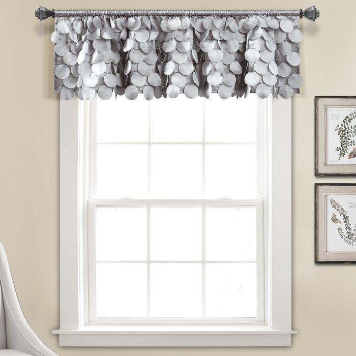 Willingham Window Valance For Luxury Light Filtering Straight Curtain Valances (Image 23 of 25)