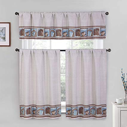 Windows Curtain – Dichvusonnha In Cotton Blend Grey Kitchen Curtain Tiers (View 25 of 25)