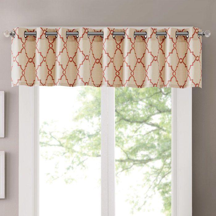 Winnett Light Filtering 50 Curtain Valance In 2019 | Cindy's Regarding Light Filtering Kitchen Tiers (View 22 of 25)