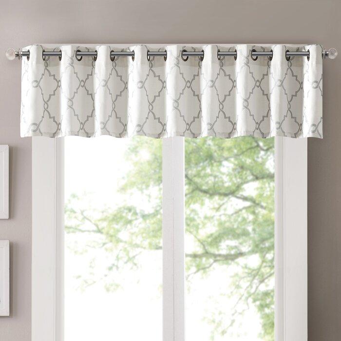 Featured Image of Luxury Light Filtering Straight Curtain Valances