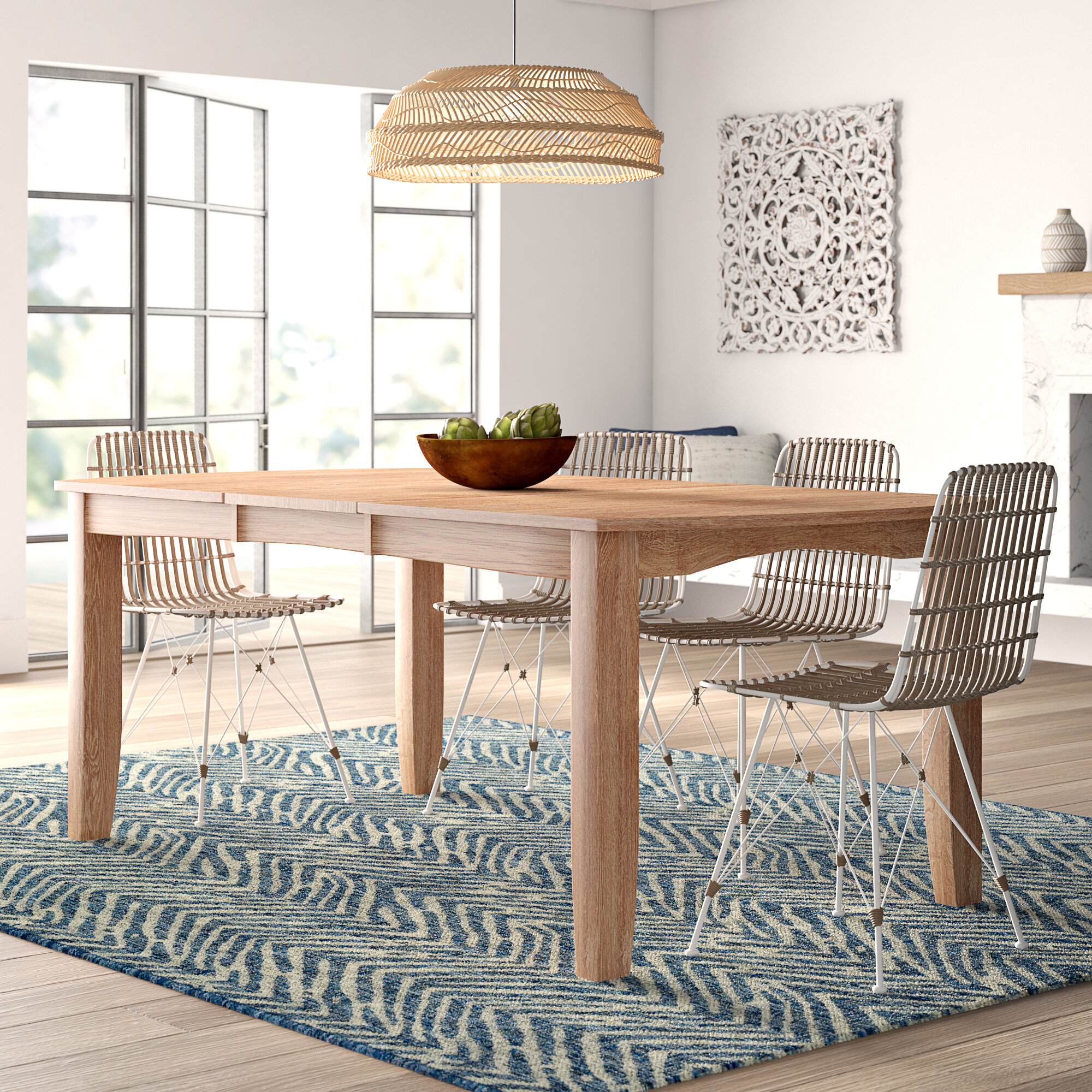 Wooden Extendable Dining Tables – Table Design Ideas Within Latest Driftwood White Hart Reclaimed Pedestal Extending Dining Tables (Image 24 of 25)