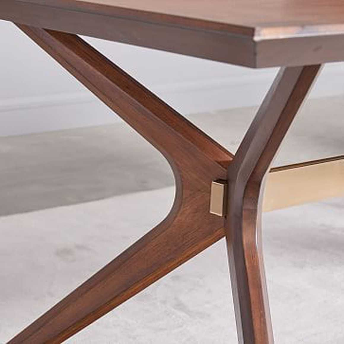 Wright Dining Table, 72', Dark Walnutwest Elm In 2019 With Most Recent West Dining Tables (View 10 of 25)
