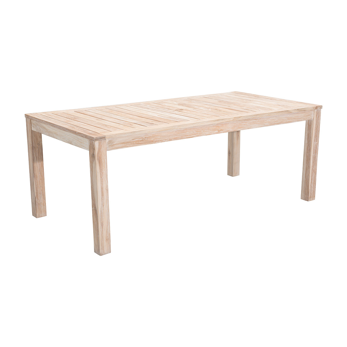 Zuo Outdoor West Port Dining Table In White Wash Intended For 2018 West Dining Tables (View 12 of 25)