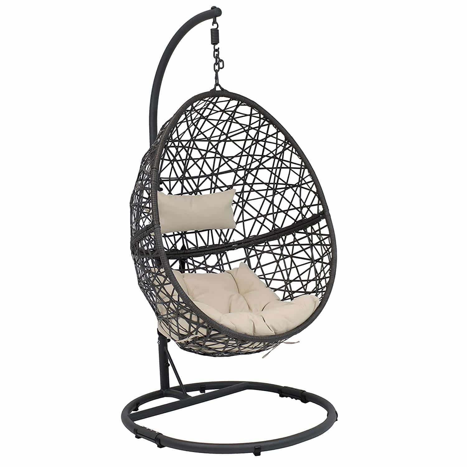 10 Best Egg Chairs Of 2020 (Review & Guide) – Thebeastreviews Pertaining To Outdoor Wicker Plastic Tear Porch Swings With Stand (View 20 of 25)