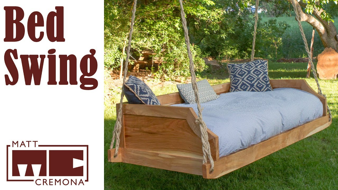 12 Diy Swing Bed Ideas To Spruce Up Your Outdoor Space With Hanging Daybed Rope Porch Swings (Image 1 of 25)