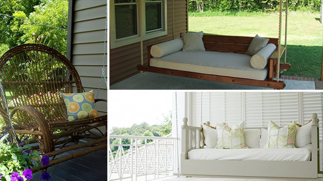17 Outstanding Handmade Porch Swing Designs Pertaining To Rosean Porch Swings (View 21 of 25)