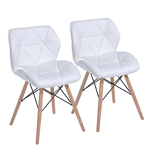 20 Coolest White Dining Chairs   Top Furniture Pieces Throughout Eames Style Dining Tables With Chromed Leg And Tempered Glass Top (View 25 of 25)
