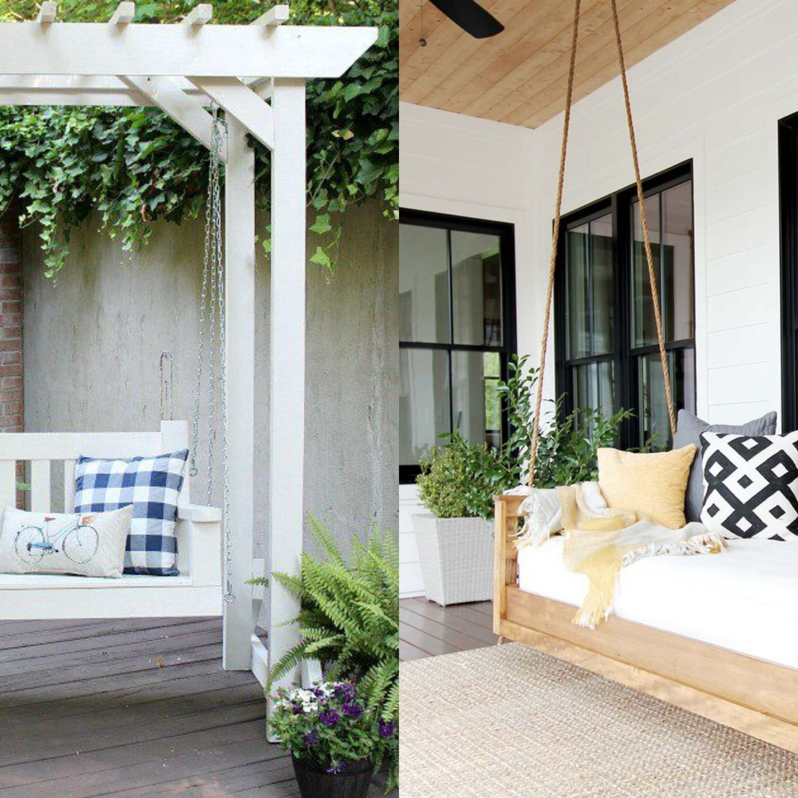 20+ Porch Swing Plans – Diy Porch Swing Pertaining To Hardwood Hanging Porch Swings With Stand (View 20 of 25)