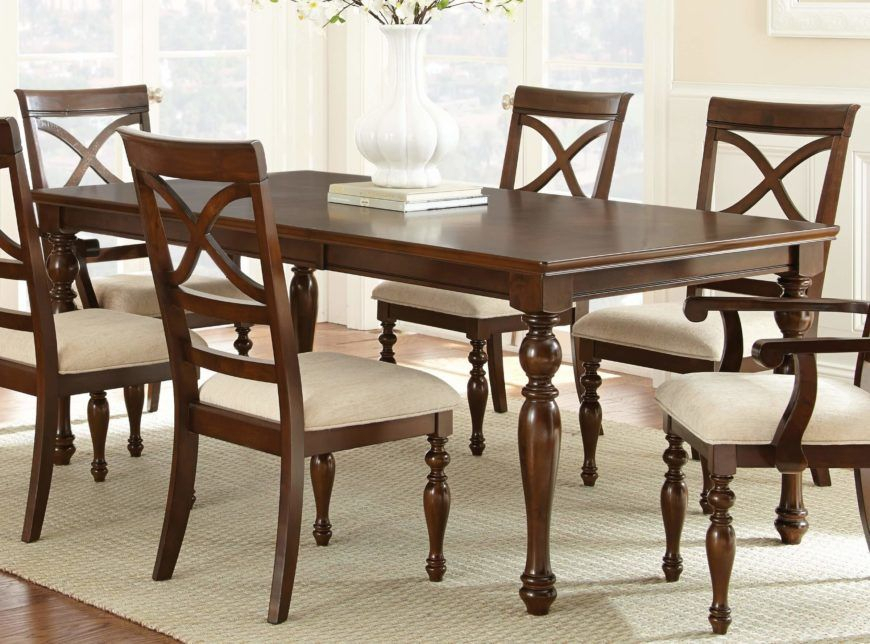 20 Wood Rectangle Dining Tables That Seats 6 Under $500 In Coaster Contemporary 6 Seating Rectangular Casual Dining Tables (View 4 of 25)
